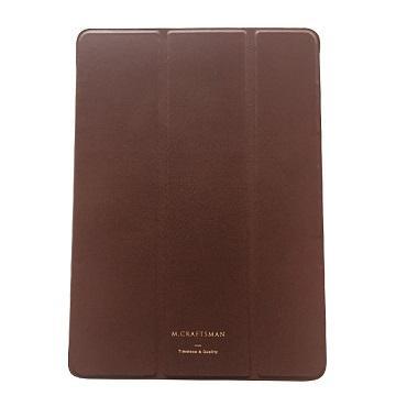 """【9.7""""】M.CRAFTSMAN iPad極輕薄保護套-棕"""