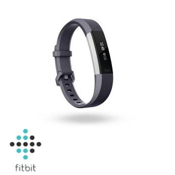 【S】Fitbit Alta HR 心率監測手環-藍灰 Alta HR BU (S)