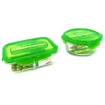 康寧分隔玻璃保鮮盒