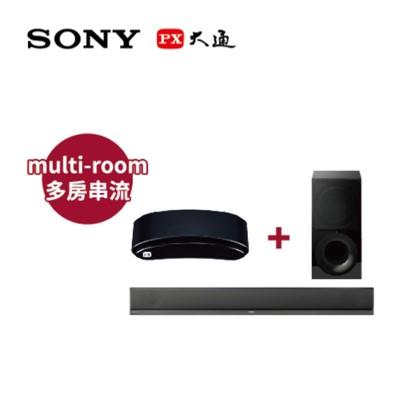 SONY 藍牙/Wi-Fi微型劇院+6K影音智慧盒