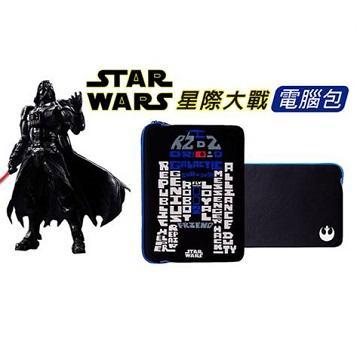 "【13""】Dgpower MacBook星戰防水內袋-R2D2文字版"