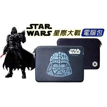 "【13""】Dgpower MacBook星戰防水內袋-黑武士文字版"