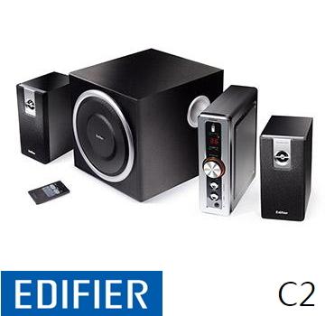 Edifier 漫步者 ED3C2T 2.1聲道三件式喇叭 ED3C2T