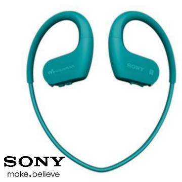 SONY索尼 Walkman 4GB 防水藍牙運動MP3 藍