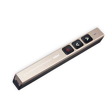 INTOPIC 無線2.4GHz雷射簡報筆-紅光