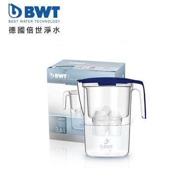 BWT德國倍世 鎂離子健康濾水壺 Slim 3.6L(深海藍)