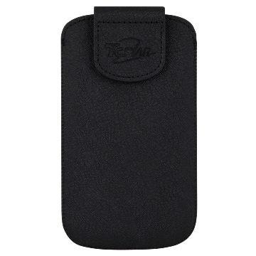 T.C.STAR TCE7010手機皮套附耳機-黑