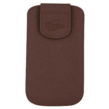 T.C.STAR TCE7010手機皮套附耳機-咖啡