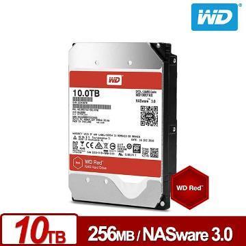 【10TB】WD 3.5吋 NAS硬碟(紅標)