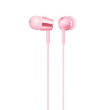 SONY MDR-EX155AP入耳式耳機-紅