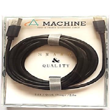 Amachine Type C快充傳輸線-2M