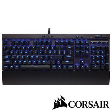 CORSAIR K70 LUX機械電競鍵盤-紅軸中文藍光 K70LUX(TW)RDBL燈