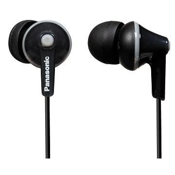 Panasonic RP-HJE125E內耳式耳機-黑