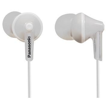 Panasonic RP-HJE125E內耳式耳機-白