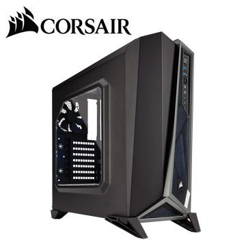 CORSAIR SPEC ALPHA電腦機殼-黑銀 CCSPEC-ALPHA-BS