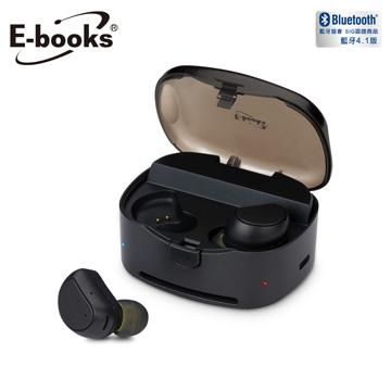 【拆封品】E-books S66 真無線防水雙邊藍牙耳機