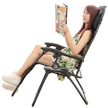 BodyBest 戶外豪華收納休閒躺椅