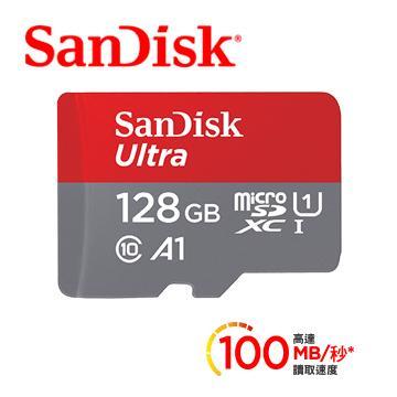 「公司貨」【128G / Ultra A1】SanDisk MicroSD記憶卡