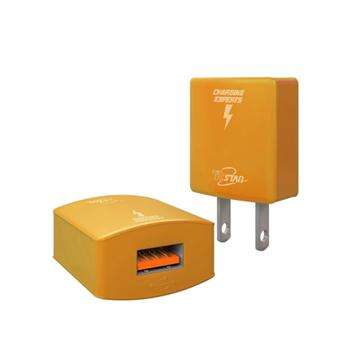 T.C.STAR 單孔1A USB旅充-金 TCP1100GD