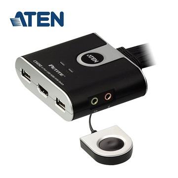 (拆封品)ATEN CS692 2埠USB HDMI KVM多電腦切換器