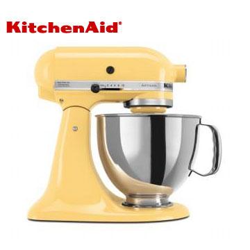 KitchenAid桌上型攪拌機-奶油黃