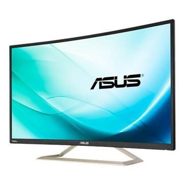 【拆封品】【32型】ASUS VA326H VA曲面電競顯示器