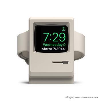 【Apple Watch】elago W3賈伯斯造型充電支架-白 EST-WT3-WH