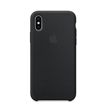 iPhone X 矽膠保護殼-黑色 MQT12FE/A