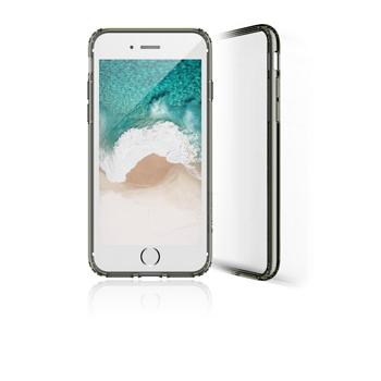 【iPhone 8 / 7 】 JTLEGEND 雙料減震保護殼-透黑