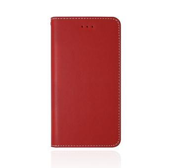 【iPhone 8 / 7 】 JTLEGEND 設計師款側掀皮套-紅