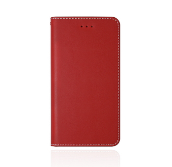 【iPhone 8 Plus / 7 Plus 】JTLEGEND 設計師款側掀皮套-紅