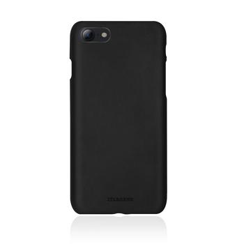 【iPhone 8 / 7】JTLEGEND 設計師款巴戈皮背蓋-黑