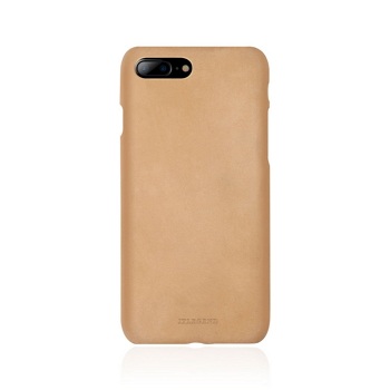 【iPhone 8 Plus / 7 Plus】JTLEGEND 設計師款巴戈皮背蓋-杏黃