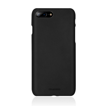 【iPhone 8 Plus / 7 Plus】JTLEGEND 設計師款巴戈皮背蓋-黑