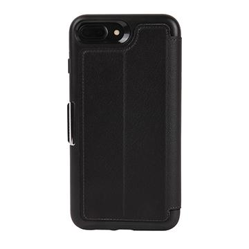 【iPhone 8 Plus / 7 Plus】OtterBox Strada 真皮防摔殼 - 黑色