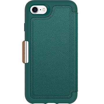 【iPhone 8 / 7】OtterBox Strada真皮防摔殼-綠