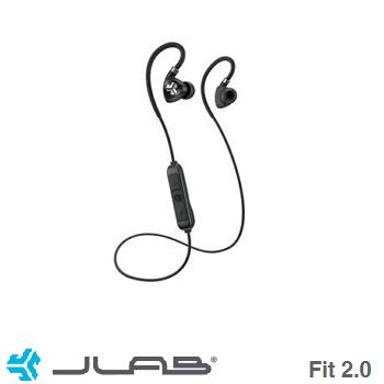 JLab Fit 2.0藍牙運動耳機-黑