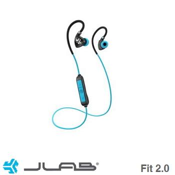 JLab Fit 2.0藍牙運動耳機-藍
