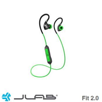 JLab Fit 2.0藍牙運動耳機-綠