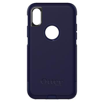 【iPhone X】OtterBox Commuter防摔殼-藍