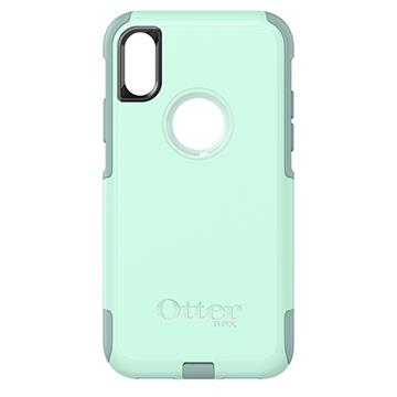 【iPhone X】OtterBox Commuter防摔殼-淺藍