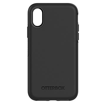 【iPhone X】OtterBox Symmetry防摔殼-黑