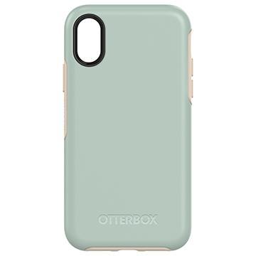 【iPhone X】OtterBox Symmetry防摔殼-綠