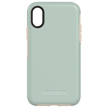 【iPhone X】OtterBox Symmetry防摔殼-綠 77-57084