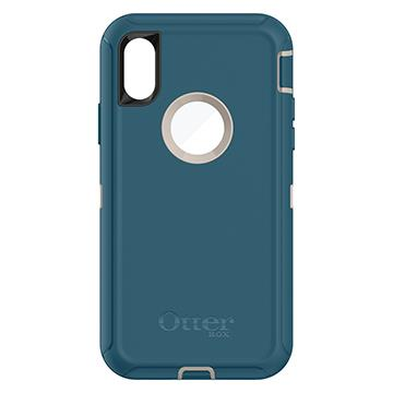 【iPhone X】OtterBox Defender防摔殼-綠 77-57029