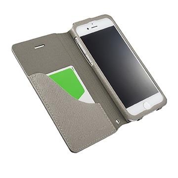 【iPhone 8 / 7】GRAMAS EURO掀蓋式皮套 - 灰