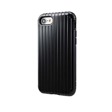 【iPhone 8 / 7】GRAMAS Rib經典行李箱手機殼 - 黑