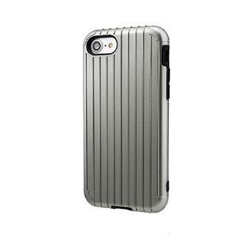 【iPhone 8 / 7】GRAMAS Rib經典行李箱手機殼 - 灰