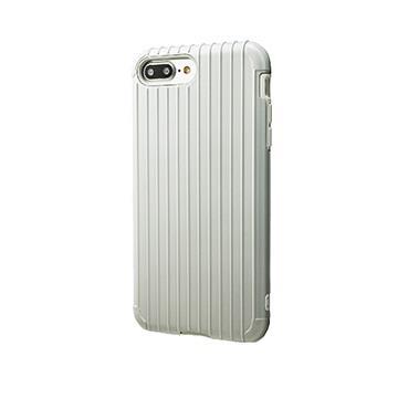 【iPhone 8 Plus / 7 Plus】GRAMAS Rib經典行李箱手機殼 - 白