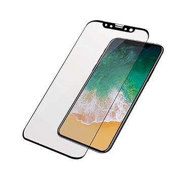 【iPhone X】PanzerGlass 2.5D鋼化玻璃保貼-黑